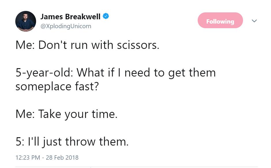 james breakwell example